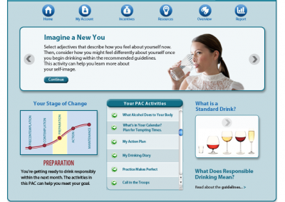 ProChange Personal Activity Center Portal