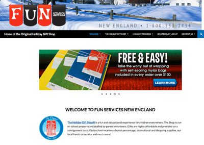 FunServices New England Wordpress Website