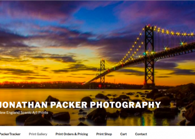 JPacker Photography Wordpress Website